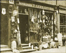 shopfront in 1895