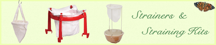 Strainers & Straining Kits by Wares of Knutsford