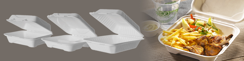 Eco friendly takeaway food boxes by Wares of Knutsford