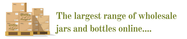 Largest Range of Wholesale Jars and Bottles
