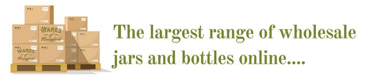 Largest Range of Wholesale Jars and Bottles