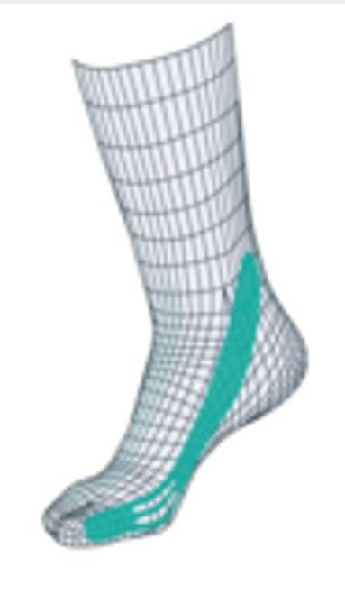Tape Sox Type (Pes Valgus) Flat Foot