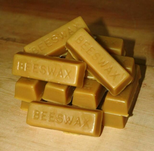 Gold Star Top Bar beeswax  - 1 oz ingot
