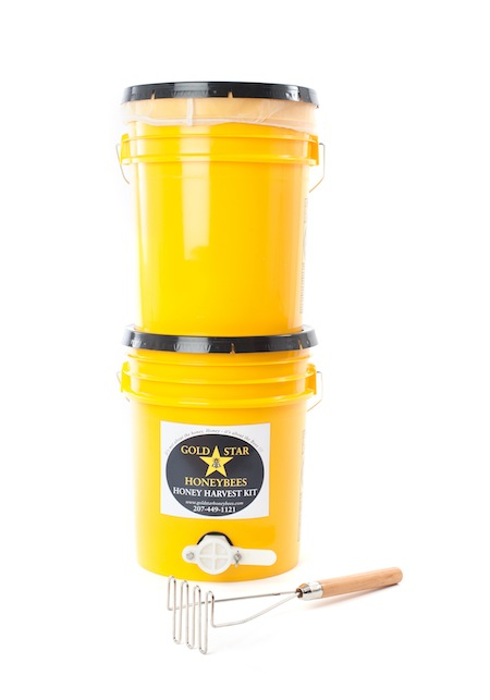 Gold Star Honey Harvest Kit - Crush and Strain Extractor