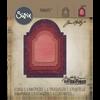 Sizzix - Tim Holtz Alterations - Thinlits Die - Stacked Archway (5 Dies)