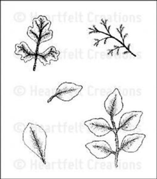 Heartfelt Creations - Leaf Medley - HCPC3405