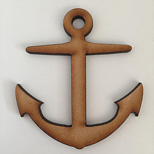 MDF Shapes - 20cm - Anchor