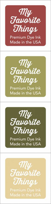 My Favorite Things - Premium Dye Ink Cubes - Set 13