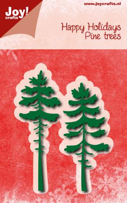 Joy!Crafts - Happy Holidays Pine Trees