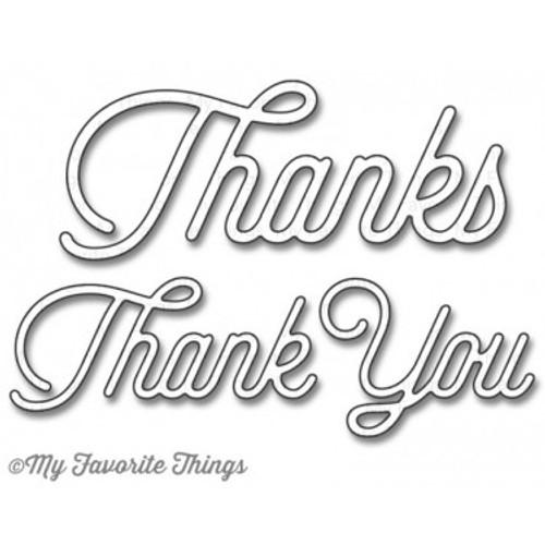 My Favorite Things - Twice The Thanks - Die-namics Universal Cutting Dies