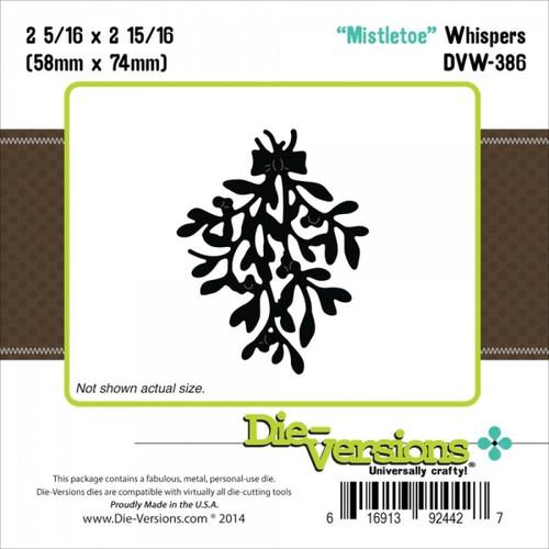 Die-Versions-Mistletoe Whispers