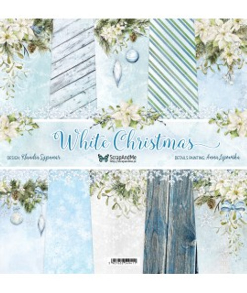 ScrapAndMe - White Christmas - 12x12 Paper Set
