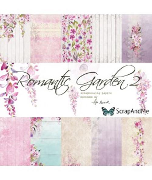 ScrapAndMe - Romantic Garden- 12x12 Paper Set