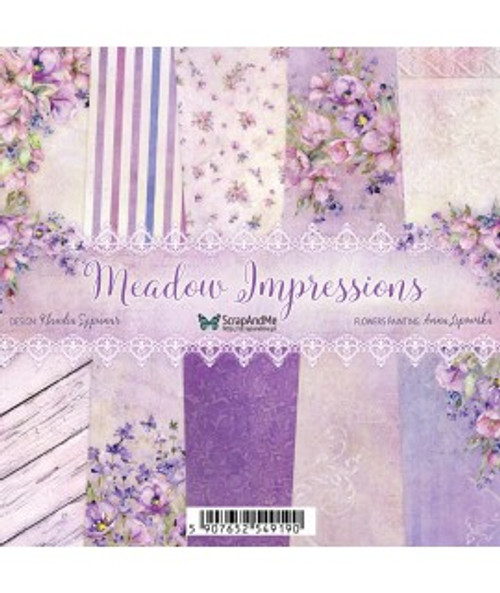 ScrapAndMe - Meadow Impressions - 12x12 Paper Set