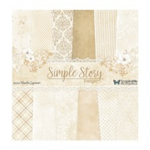 ScrapAndMe - Simple Story 2 - 12x12 Paper Set
