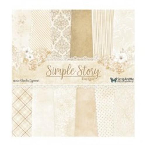 ScrapAndMe - Simple Story 2 - 12x12 Paper Set