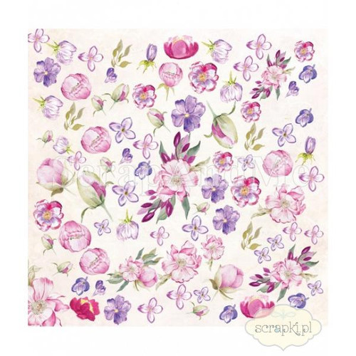 ScrapAndMe - Romantic Garden 1 - 12x12 Elements ( Double Sided)