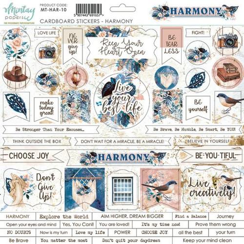 Mintay -  Harmony - 12 x 12 chipboards