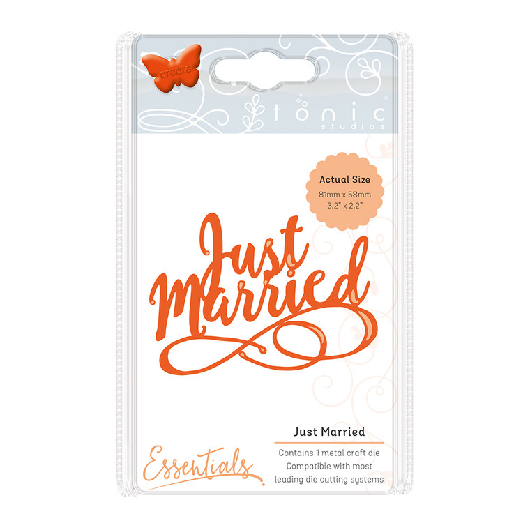 Tonic Studios - Miniature Moments Die - Just Married