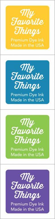 My Favorite Things - Premium Dye Ink Cubes - Set 15