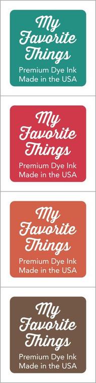 My Favorite Things - Premium Dye Ink Cubes - Set 02