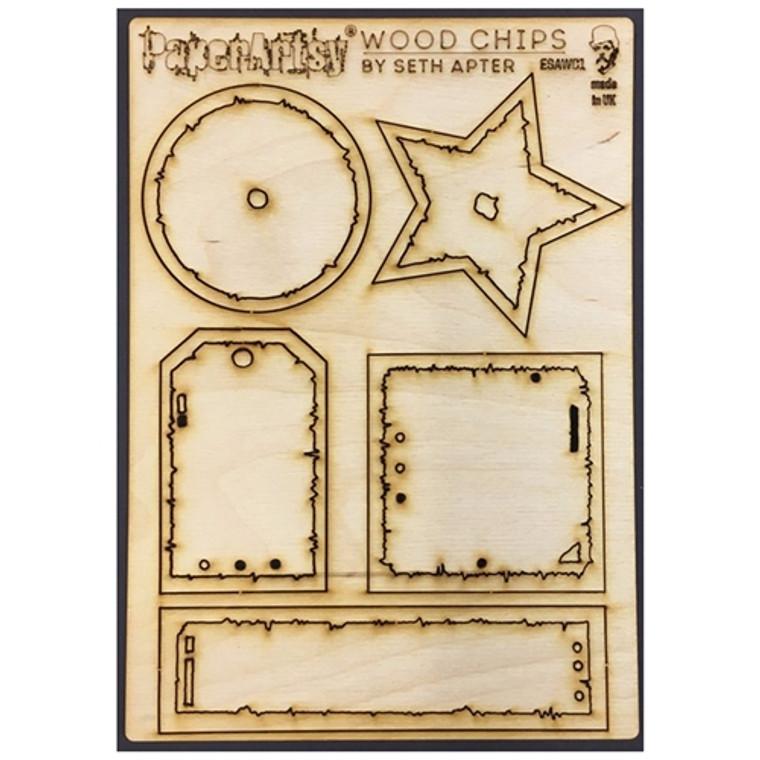 Paper Artsy - Wood Chips by Seth Apter - Set 1 (ESAWC1)