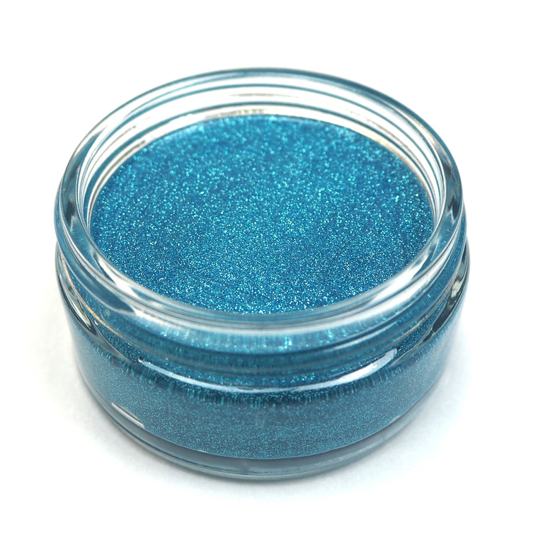 Cosmic Shimmer - Glitter Kiss - Blue Teal Kiss