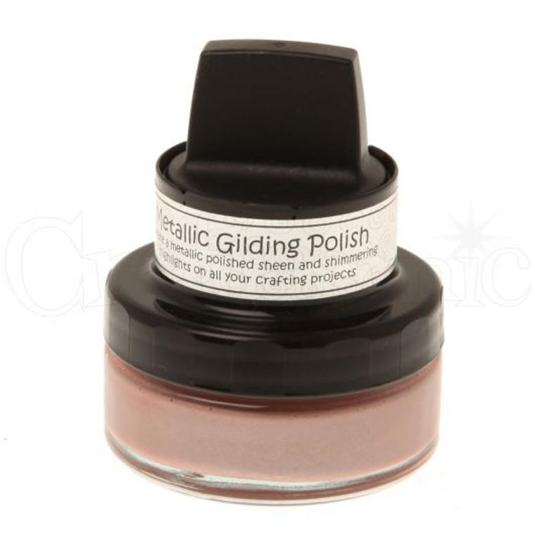 Cosmic Shimmer - Glitter Kiss - Silver Hessian Gilding Polish