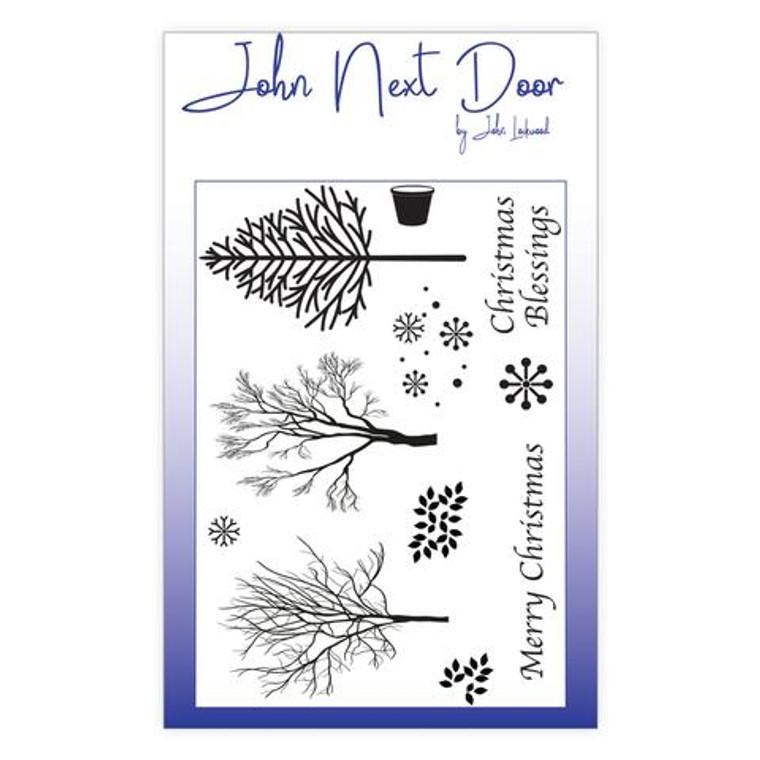 John Next Door - Clear Stamp - Winter Flowers 11 pcs