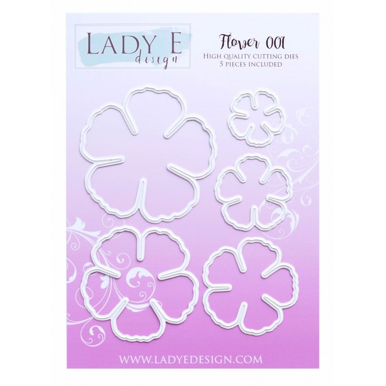 Lady E Design - Flower 001