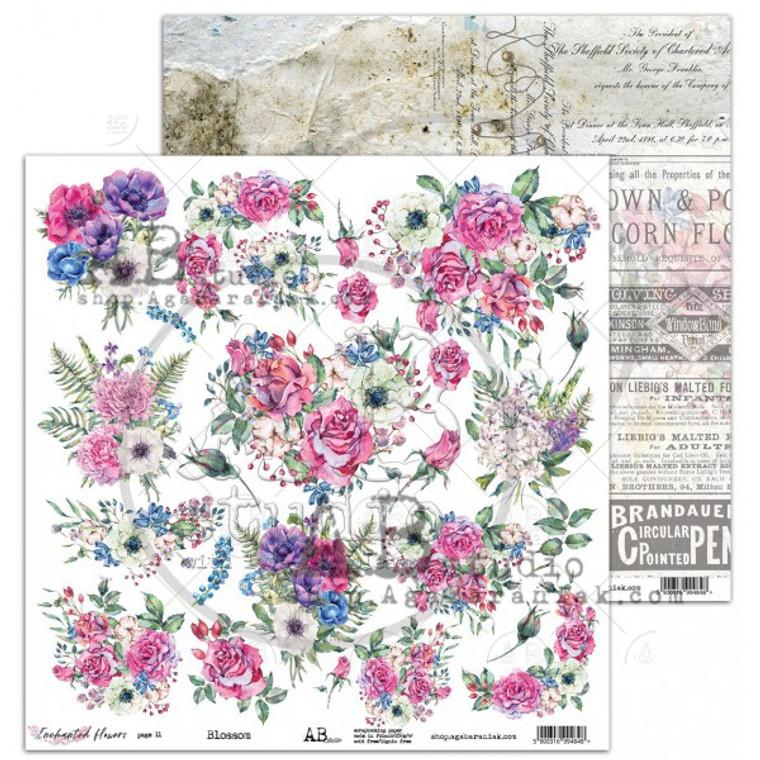 ABstudio - Blossom by Aga Baraniak - 12x12