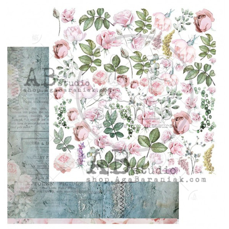 ABstudio - Pink Scents by Aga Baraniak - 12x12