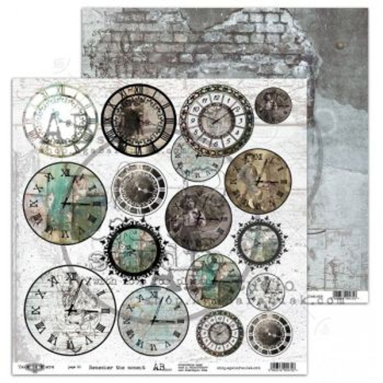 ABstudio - Remember The Moment by Aga Baraniak - 12x12