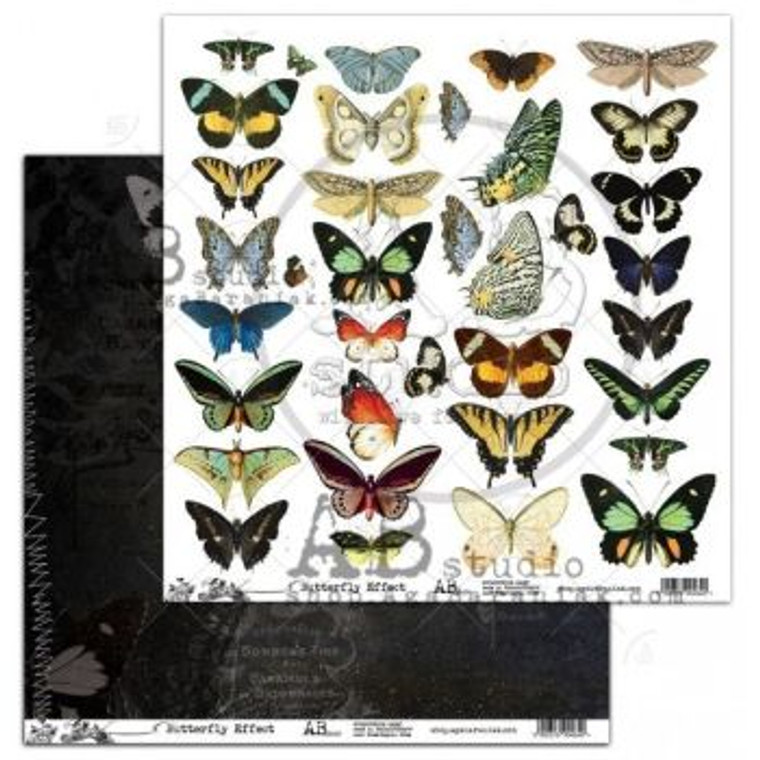 ABstudio - Butterfly Effect by Aga Baraniak - 12x12