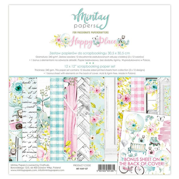 Mintay -  Happy Place - 12 x 12 (MT-HAP-007)
