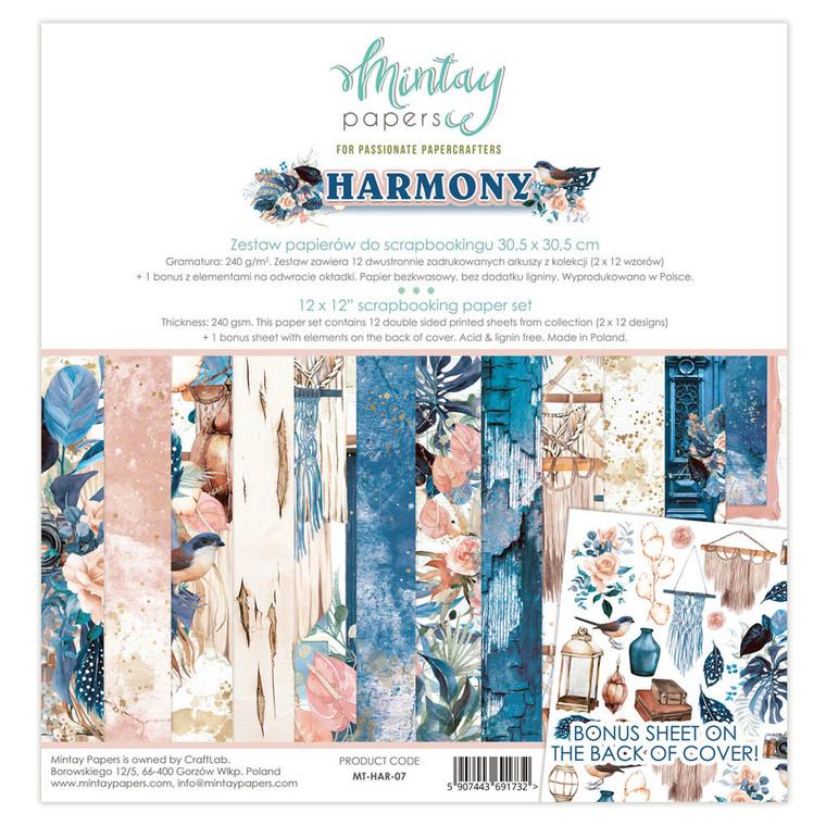 Mintay -  Harmony - 12 x 12