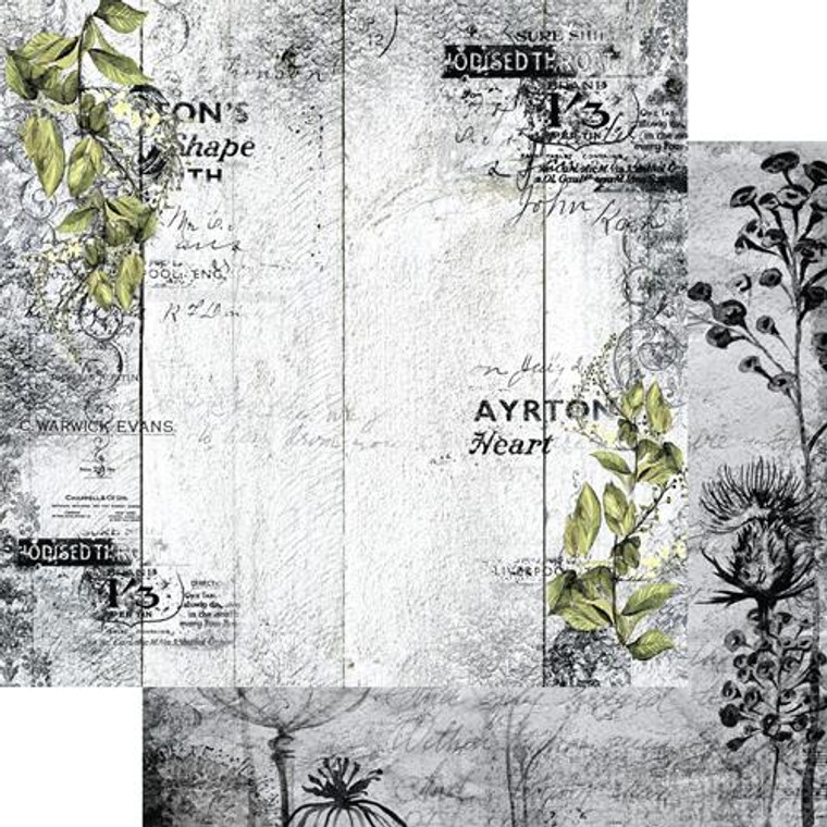 Scrapbooking Papers. Paper Collection Set 12ins x 12ins (30.5cm x 30.5cm)  13 Arts - Summer Rhapsody/In My Heart, designed by Aida Domisiewicz 250gsm..
