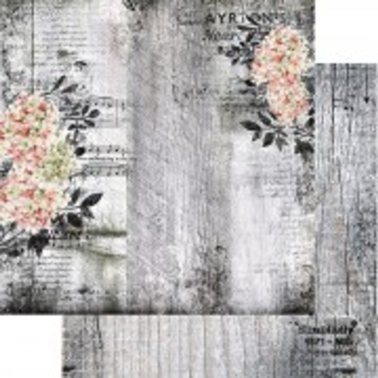 Scrapbooking Papers. Paper Collection Set 12ins x 12ins (30.5cm x 30.5cm)  13 Arts - Summer Rhapsody/Serenade, designed by Aida Domisiewicz 250gsm.