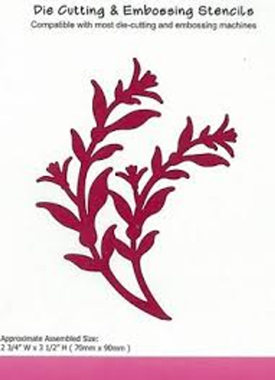 Crafts Too - Beautiful Branches - (CTD17089)     size 70x90mm