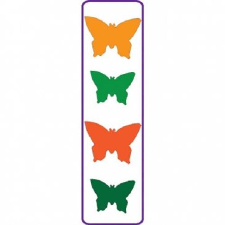 Crafts Too -  Presscut  - Butterflies - PCD43     Largest 2cm