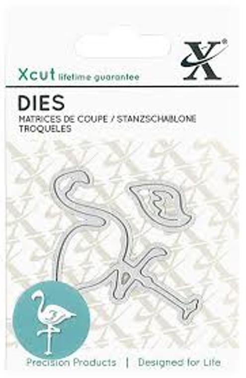 Xcut Mini Die - Flamingo - (XCU 503629)     Approx      Length: 6.2cm     Width: 4.5cm     Material: Steel     Pack size: 2 dies