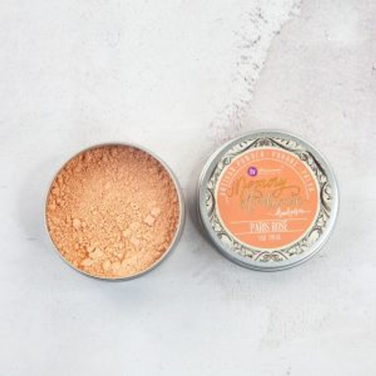 Prima Marketing - Memory Hardware - Artisan Powder 1 oz - Paris Rose - (994327)  Create a vintage effect on any surface with these Artisan Powders by Frank Garcia. Lightly dust them on paper, resins, wood and more, even non-porous surfaces. Use them dry or wet, mix them with water to create custom sprays or mix them with gels and mediums for customized colors and effects.  1oz/28g pack in beautiful decorative tin.