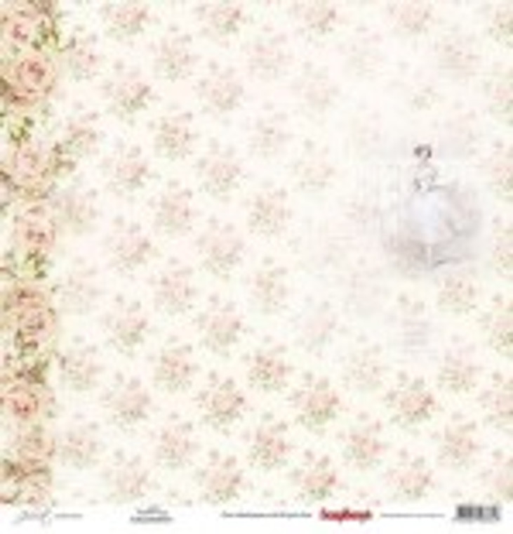 Scrapberry's 12x12 Juliet Paper Collection - Ballerina - 13 Sheets (SCB220608400)