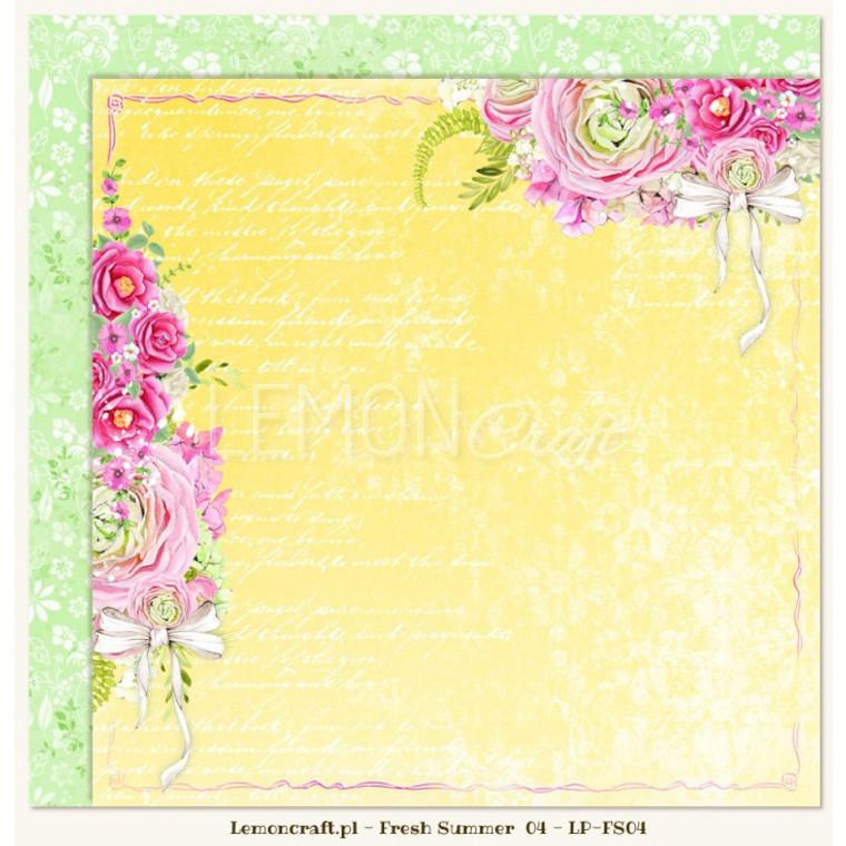 Lemoncraft - Fresh Summer 04 - Double Sided 12 x 12 (LP-FS04)
