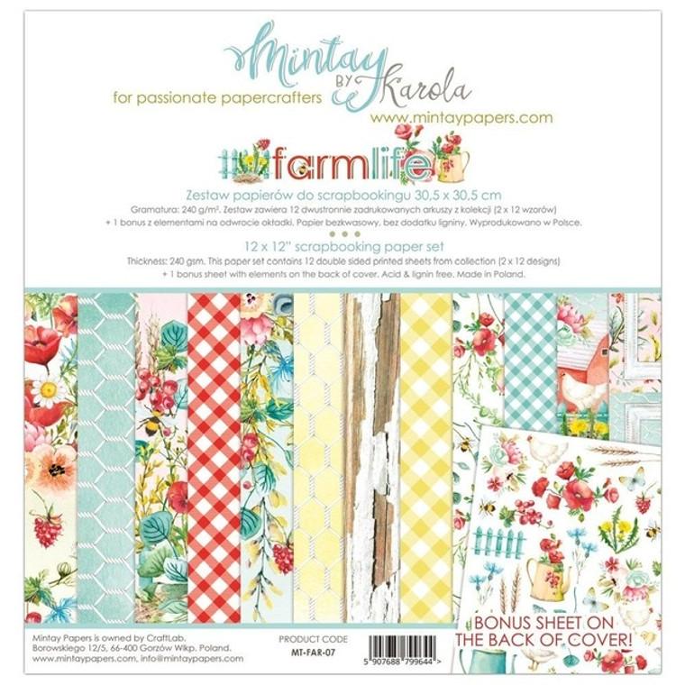 Mintay - Farmlife - 12 x 12  (MT-FAR-07)