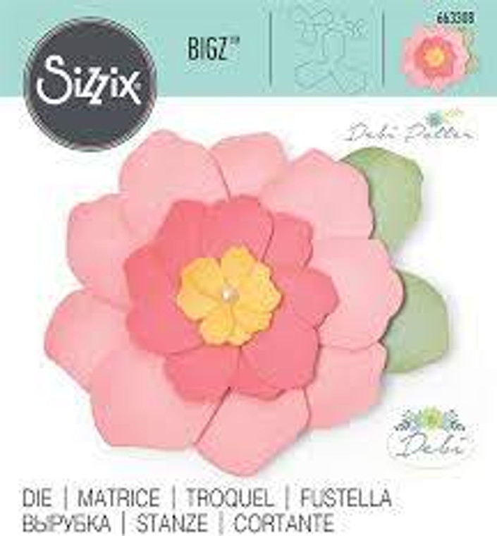 Sizzix Bigz Die - Bella (663308)  With steel-rule construction, a Bigz die cleanly cuts thick materials, including cardstock, chipboard, fabric, foam, magnet, leather, metallic foil, paper and sandpaper (in limited use). Its wider size offers you more design options.  This die is designed for use only with the BIGkick, Big Shot and Vagabond machines and requires the use of a pair of Cutting Pads.