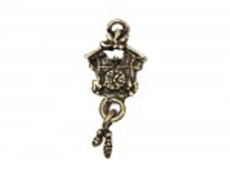 Scrapberry's - Metal Charms - Bronze Cuckoo Clock - 10 pcs - (SCB25013612-1)  Scrapberry's pack of 10 metal charms/embellishments. Bronze Cuckoo Clock, approximate size of each charm = 20x13mm.  These items are not toys, and are not suitable for children.  They are designed for use as charms or embellishments in all your scrapbooking projects, card making and much more.