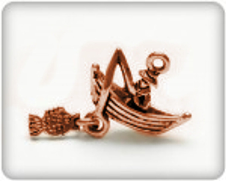 Scrapberry's - Metal Charms - Bronze Fishing Boat - 10 pcs - (SCB25013581-1)  Scrapberry's pack of 10 metal charms/embellishments. Bronze Fishing Boats, approximate size of each charm = 15x19mm.  These items are not toys, and are not suitable for children.  They are designed for use as charms or embellishments in all your scrapbooking projects, card making and much more.