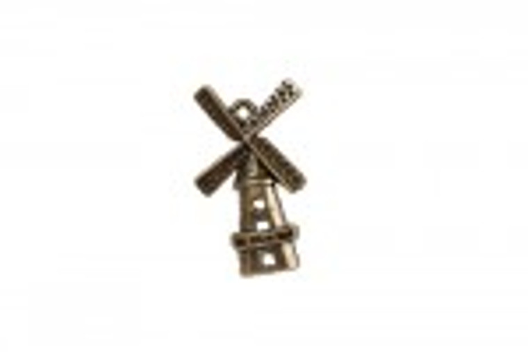 Scrapberry's - Metal Charms - Bronze Windmill - 10 pcs - (SCB25013719-1)  Scrapberry's pack of 10 metal charms/embellishments. Bronze Windmills, approximate size of each charm = 28x17mm.  These items are not toys, and are not suitable for children.  They are designed for use as charms or embellishments in all your scrapbooking projects, card making and much more.