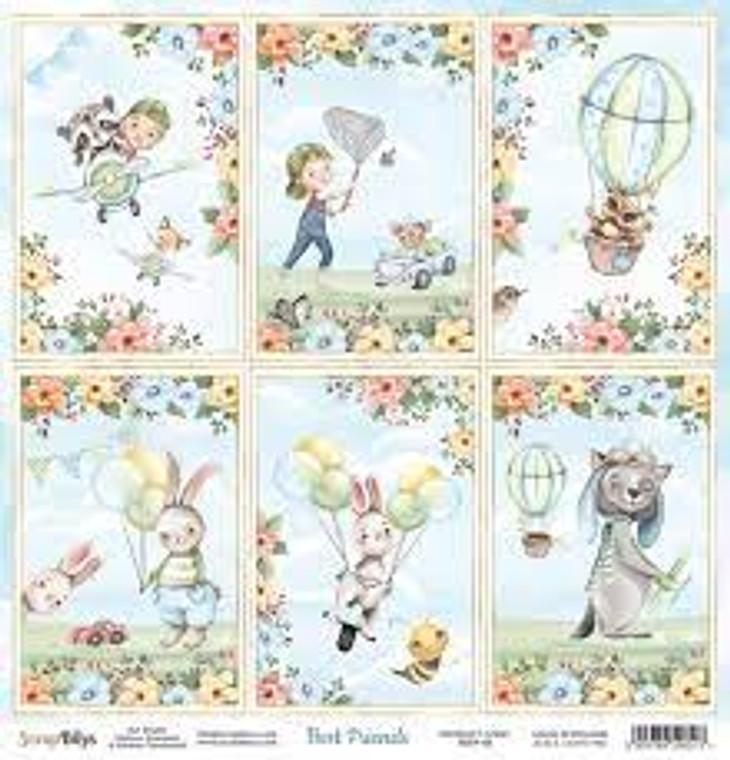 ScrapBoys - Best Friends  12 x 12 - Single Sheet - (BEFR-06)  ScrapBoys - Best Friends Series - 12 x 12 Scrapbooking Sheets - Single Sheet - (BEFR-06) Sizes : paper sheets ; 30,5 x 30,5 cm ( 12''x12'')  Acid & Lignin Free. Weight: 190 gsm